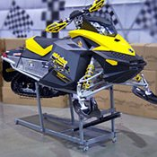 Snowmobile Work Stand - Black Painted