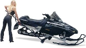 Eazymove Snowmobile Cart  - For Long Tracks